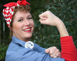 brenda-kowalski-rosie-the-riveter-1 Halloween is Coming: Let Rosie the Riveter Inspire Your Costume