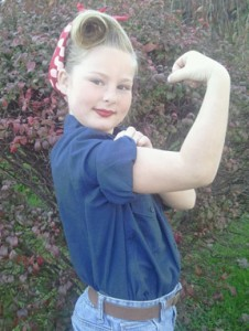 2012-abigail-rosie-226x300 A Young Rosie the Riveter Asks All the Right Questions