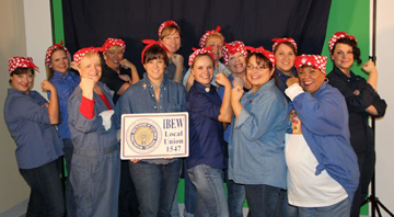 2012-rosie-the-riveter-costume Cheers for Thirteen Rosie the Riveters