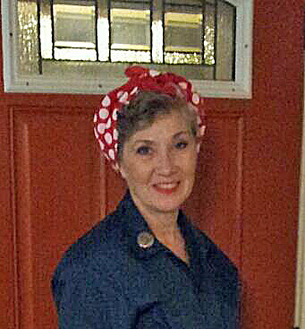 2012-halloween-ladonna Rosie the Riveters Been with Her for Six Years