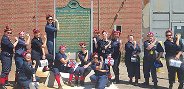 Help Willow Run Regain the Rosie the Riveter Guinness World Record