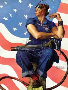 Norman Rockwell\'s Rosie the Riveter